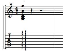 Arpeggiated Chords